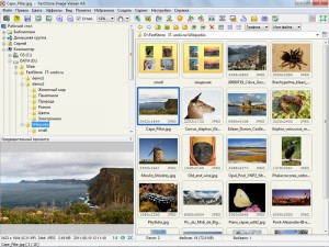 FastStone Image Viewer – Оконный вид